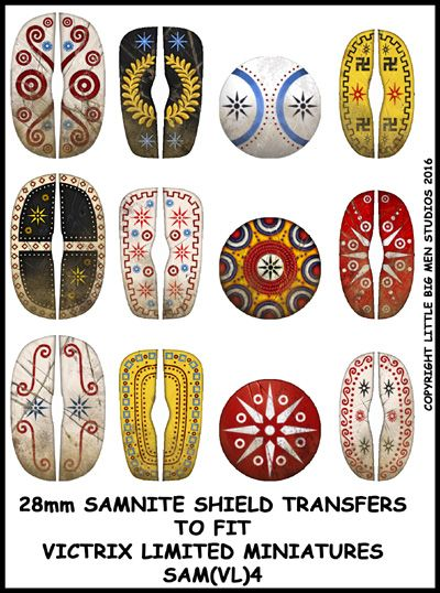 New Samnite sheet now available at www.victrixlimited.com