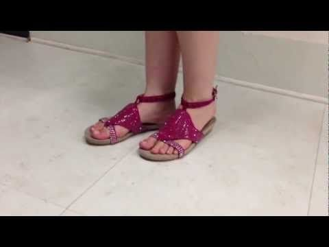 summer fun in fuschia with sparkles, comfy and glitzy