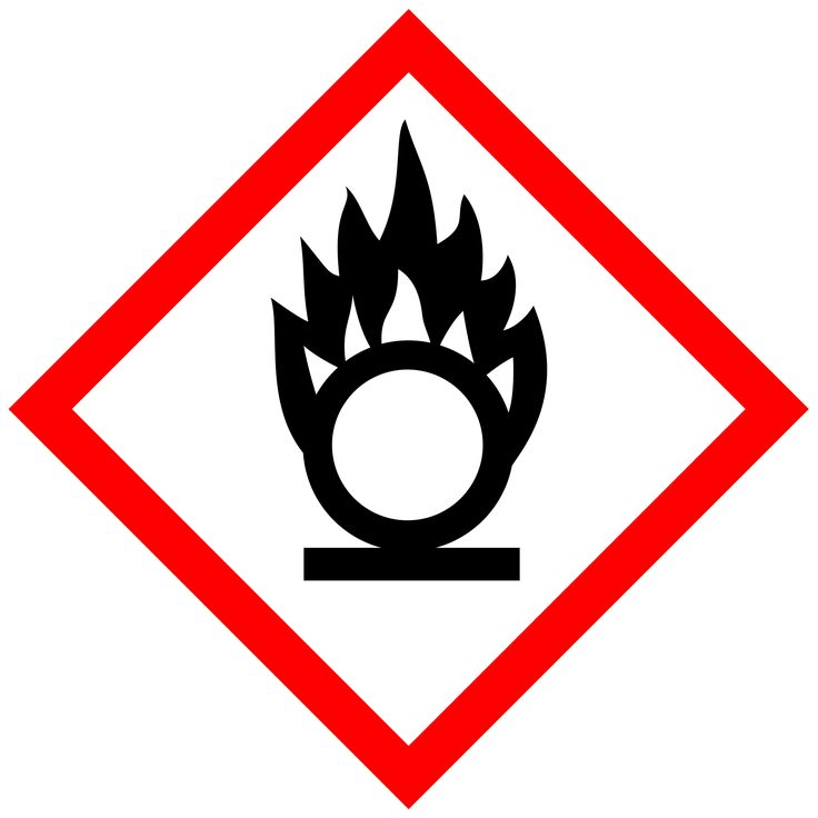 """The chemical sign that means """"Warning: Oxidizing Agent"""" looks like it means """"Warning: Vegeta Transformation Ahead."""" http://ift.tt/2kvi3O5"""