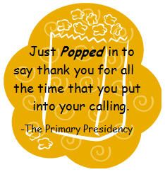 Very cute note to add to a bag of microwave popcorn as a thank you for teachers, classroom aides, homeroom helpers,subs,etc