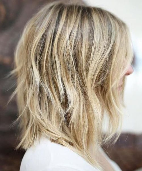 Exquisite Blonde Shaggy Haircut Styles For 2019
