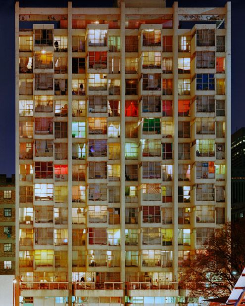 seen in #SouthAfrica: housing becomes art // Johannesburg