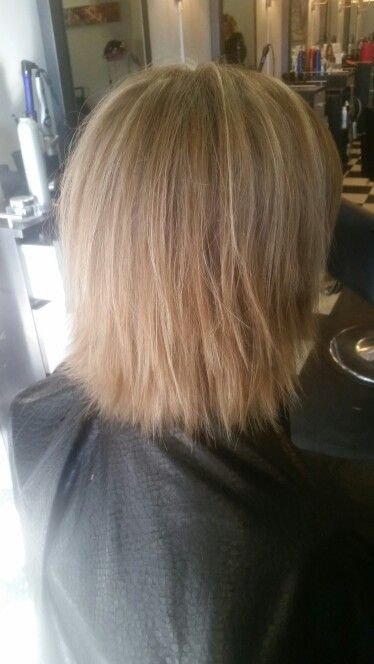 1000 Ideas About Shattered Bob On Pinterest Blonde Bobs
