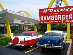 McDonalds original store    The McDonald's restaurant concept was introduced in San Bernardino, California by Richard and Maurice McDonald of Manchester, New Hampshire. It was modified and expanded by their business partner, Ray Kroc, of Oak Park, Illinois, who later bought out the business interests of the McDonald brothers and formed McDonald's Corporation.