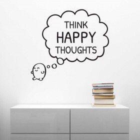 Tænk glade tanker.. Sjov til forskellige rum..