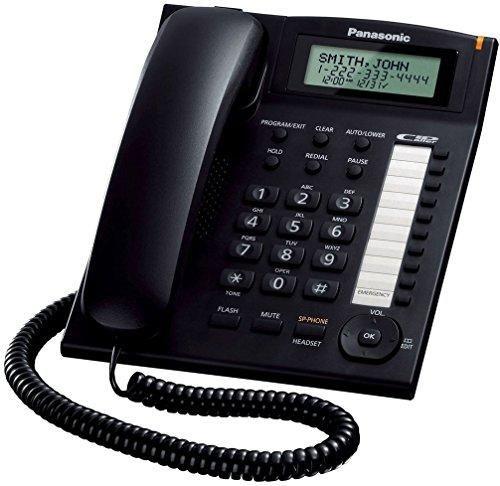 Oferta: 33€ Dto: -31%. Comprar Ofertas de Panasonic KX-TS880EXB - Teléfono fijo (pantalla LCD, identificador de llamadas, manos libres), Color Negro barato. ¡Mira las ofertas!