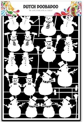 472.948.029 Dutch Paper Art Snowman