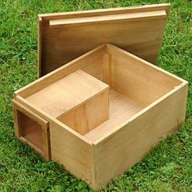 Hedgehog Nest Box: NHBS