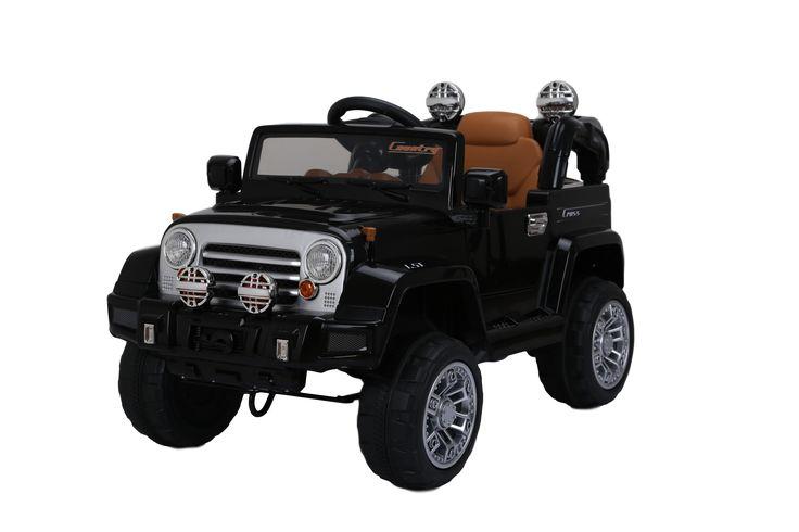 Электромобиль JJ 245 Джип черный