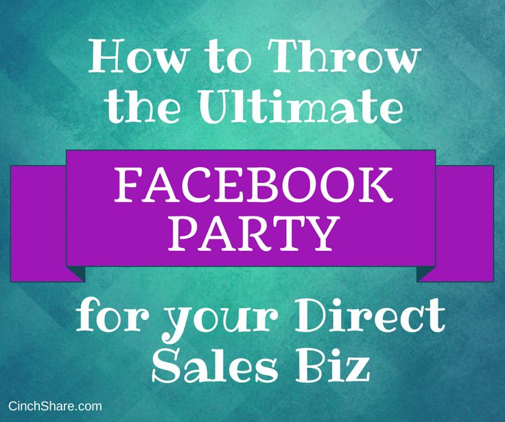 Are you clueless and confused when it comes to throwing a successful virtual Facebook Party? Don't worry, we're here to help!