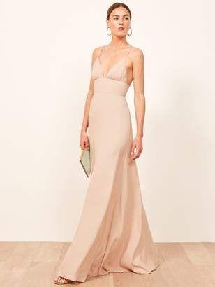 5bfb307126f3 Reformation Seychelles Dress