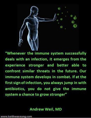 Make your own probiotics and eat them daily x2-3..... The best revenge is to lead a healthy and happy life!