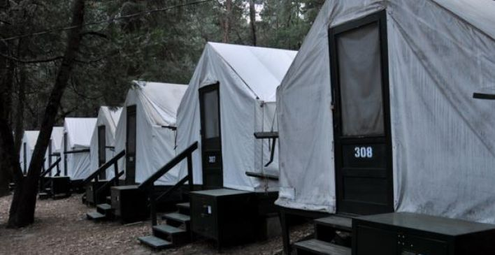 130 best camping houseboating images on pinterest for Curry village cabins yosemite