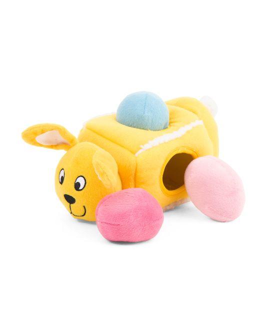 Hide An Egg Bunny Interactive Dog Toy Interactive Dog Toys