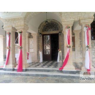 Διακόσμηση Γάμου στον Ιερό Ναό Τιμίου Προδρόμου Κρανιδίου