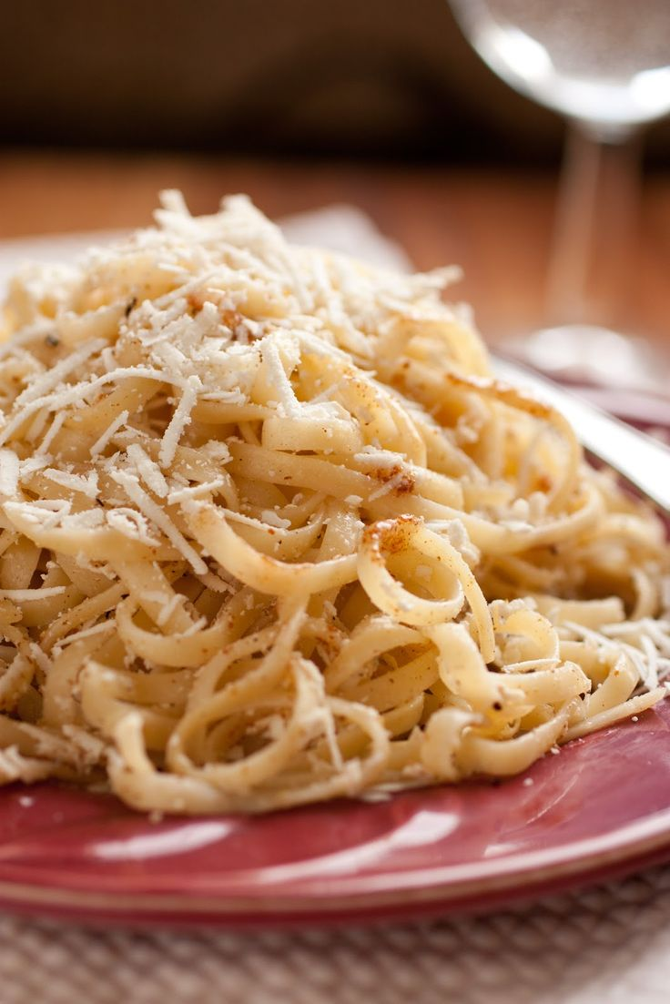Pasta with Browned Butter and Mizithra (Must Try 15 Minute Meal ...