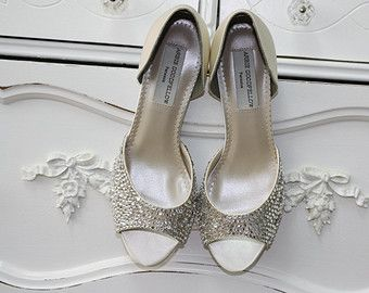 Wedding Shoes Heel Size 2.5 Inches Choose From over by Parisxox