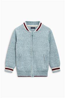Knitted Baseball Jacket (3-16yrs)