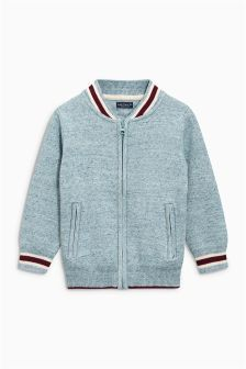 Knitted Baseball Jacket (3-16yrs)