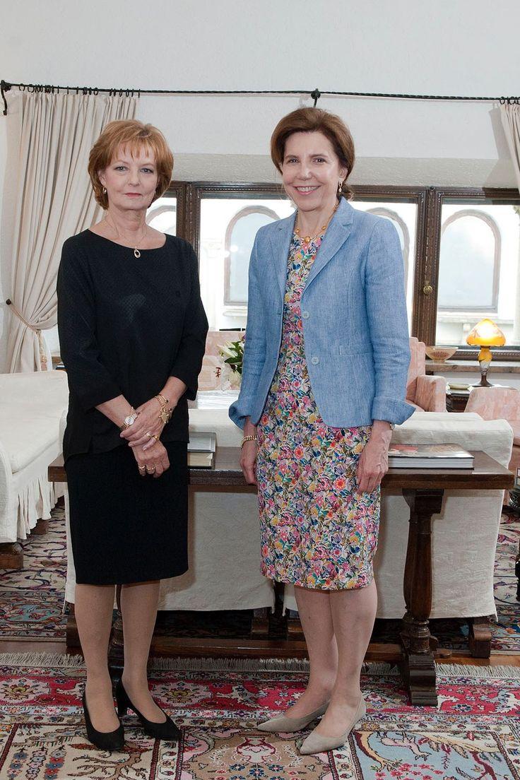Ambasadoarea Franței la Palatul Elisabeta | Familia Regală a României / Royal Family of Romania