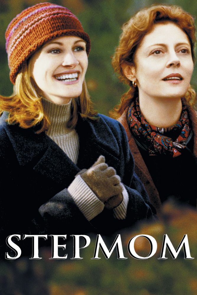 Stepmom Movie Poster - Julia Roberts, Susan Sarandon, Ed Harris  #Stepmom, #JuliaRoberts, #SusanSarandon, #EdHarris, #ChrisColumbus, #Drama, #Art, #Film, #Movie, #Poster