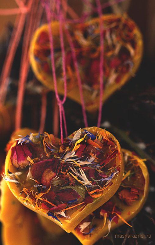 Цветочный аромат Пчелиный воск украшения Природные Саше по MashaRazner