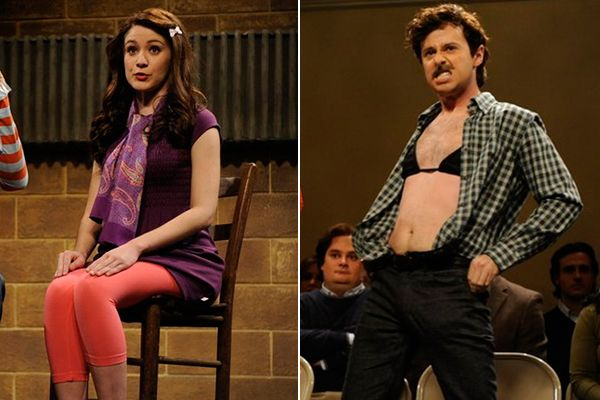 Noël Wells and John Milhiser on 'Saturday Night Live'