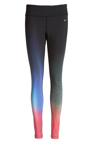 Nike 'ForeverGradient' Running Tights (Women) available at #Nordstrom