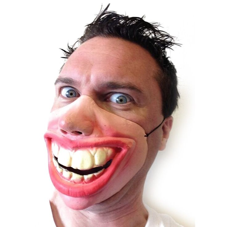 Big Teeth Latex Half Face Mask Funny Costume //Price: $4.52 & FREE Shipping //     #gifts