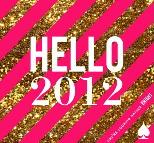 you're looking rather bright!Canvas Ideas, Hello 2012, Hello Sunshine, Hot Pink, Glitter, Hello Summer, Kate Spade, New Years, Graduation
