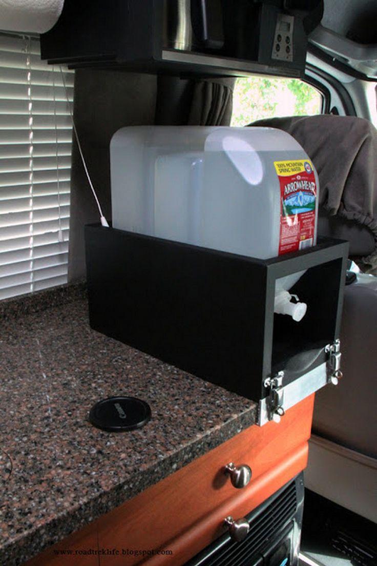 nice 60 DIY RV Camping Storage Hacks and Solutions https://www.abchomedecor.com/2017/06/20/60-diy-rv-camping-storage-hacks-solutions/