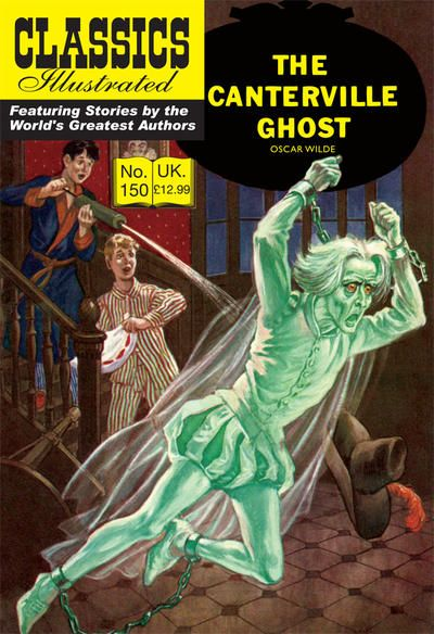 Cover for Classics Illustrated (UK) (Classic Comic Store, 2011 series) #150 - The Canterville Ghost