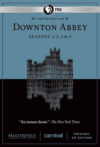 Masterpiece: Downton Abbey - Seasons 1-4 [DVD]