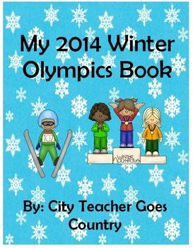 Winter Olympics Book and Activities - Sochi 2014