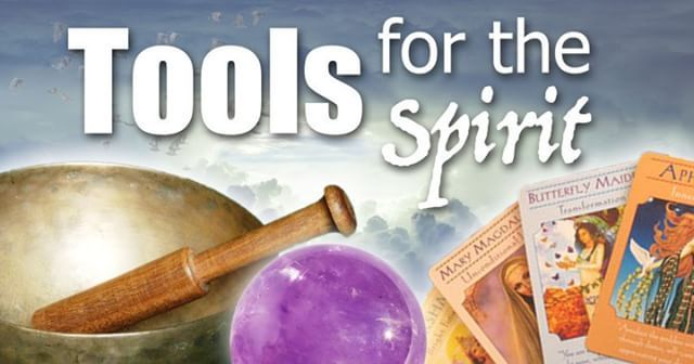 From this week's blog: Tools for the Spirit. We have tools for everything else--why not support our spirits as well? URL in comments. #spirit #healing #crystals #support #love #oraclecards @jensincero #meditation #yoga #tarot