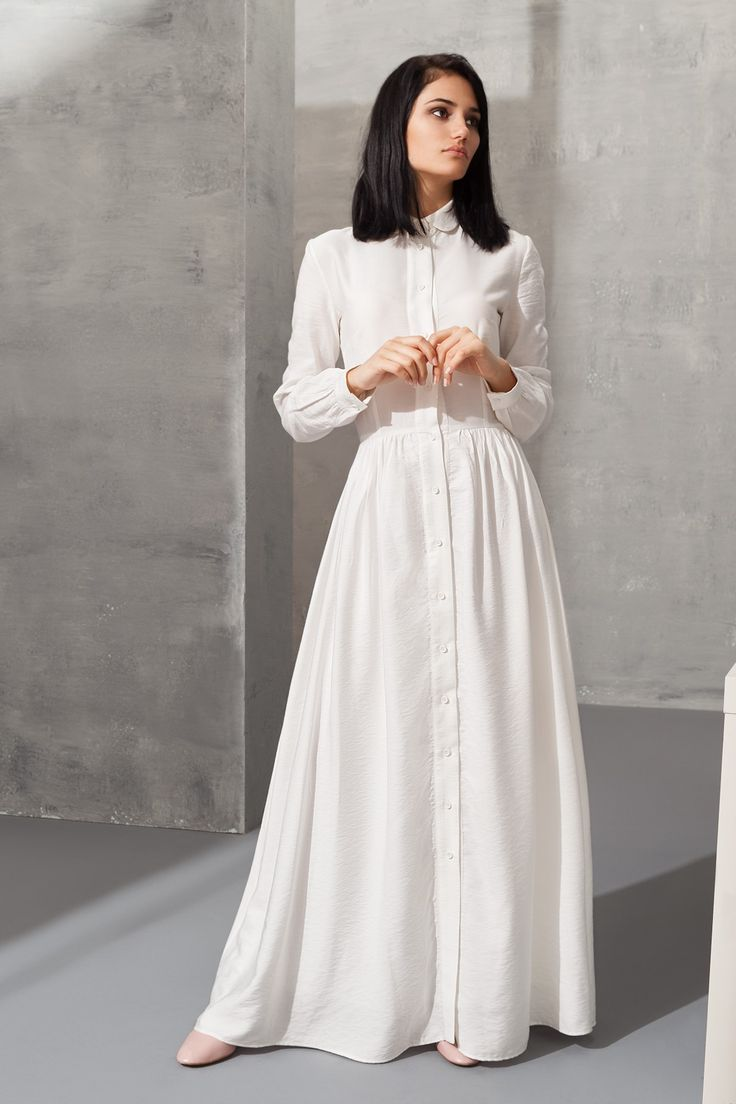 483 best images about The Modest White Dress on Pinterest | White ...
