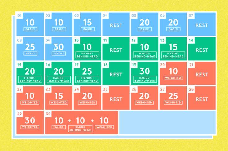 30 Day Squat Challenge Leg Exercise