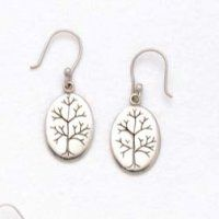 ~:~ 10% Off Fair-trade Tree of Life Silver Earrings. A lovely gift for Mom ~:~