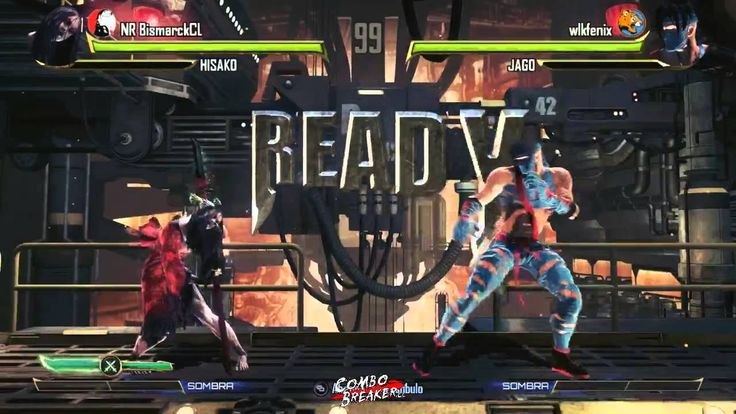 KI New Blood Tornament Online - NR BismarckCL (Hisako) vs wlkfenix (Jago)