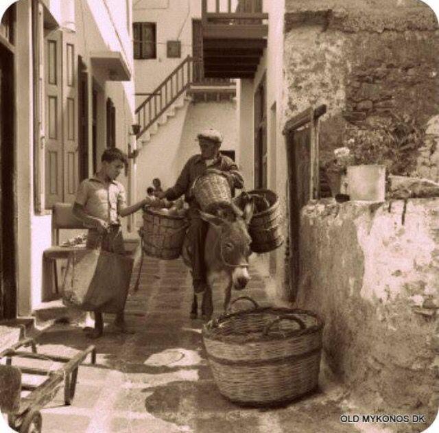 #Mykonos in 1960, By D.Koutsoukos