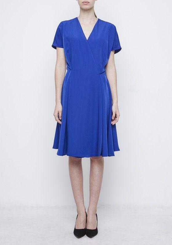 Image of Blue Kimono Dress
