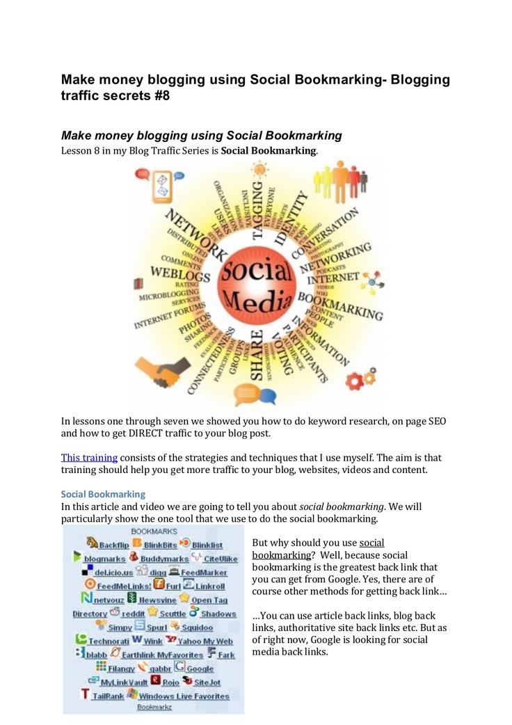 social-bookmarking-slide-share by pmkab77 via Slideshare