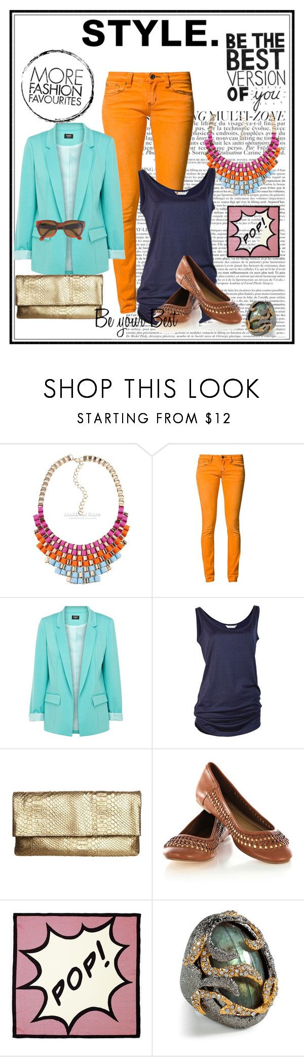 """Step into Spring"" by clintonkelly ❤ liked on Polyvore featuring One Green Elephant, Oasis, Juicy Couture, Kate Spade, Alexis Bittar, J.Crew and fashion style inspiration colorblocking"
