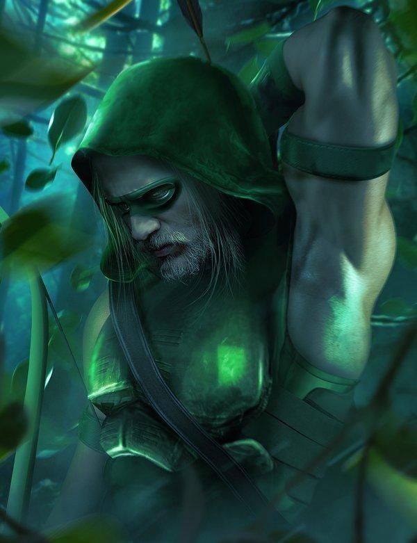 Matt Damon mostra como seria se ele fosse o Arqueiro Verde dos cinemas! - Legião dos Heróis