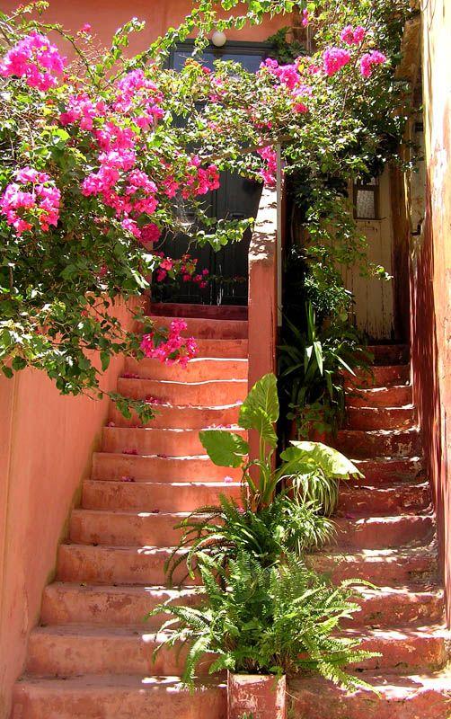Neighbours in Rethymno, Crete island, Greece