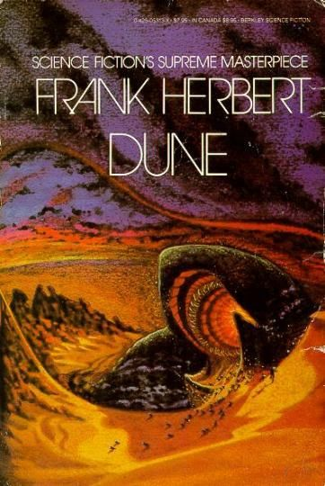 DUNE! I know so much about this book, and yet, I've never read it. Definitely going to tackle this soon.