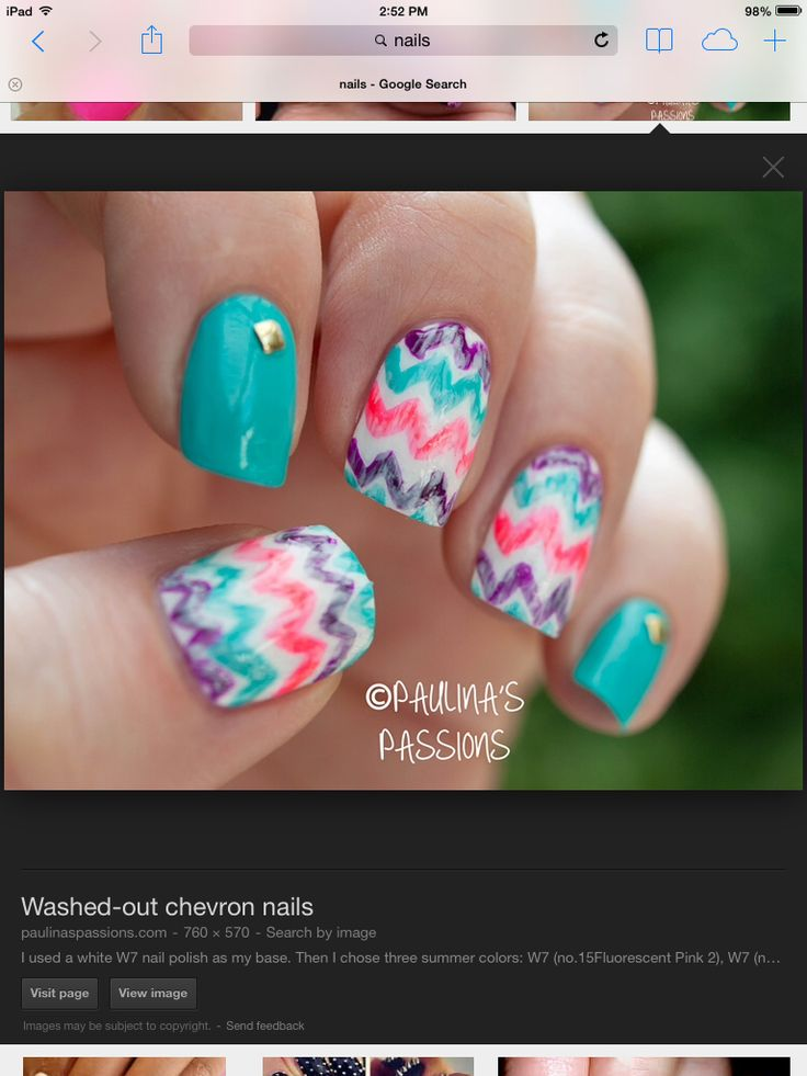 10 best nails images on pinterest nail scissors nailed it and cute chevron nails do it yourselfchevron solutioingenieria Image collections