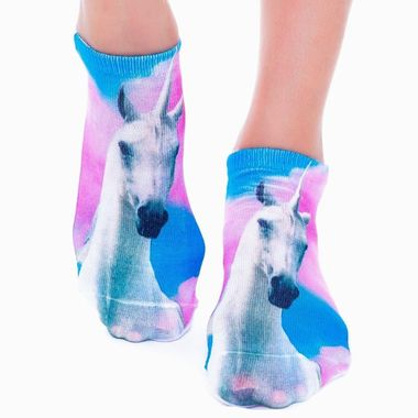 DID YOU SEE THAT UNICORN RUN BY? SOCKS