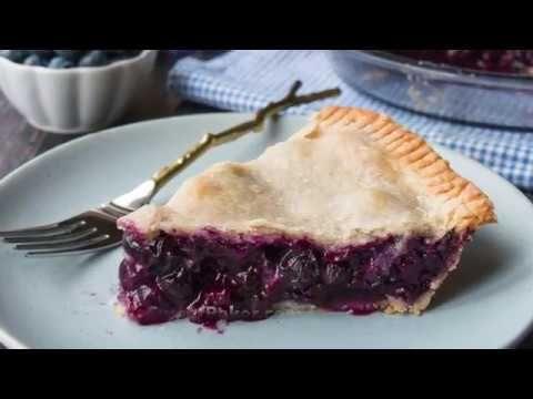 Homemade Blueberry Pie - YouTube