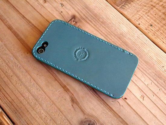 <カスタムオーダー/シンプルタイプ>レザーiPhone5 ケース Kav'a(カヴァ)の画像
